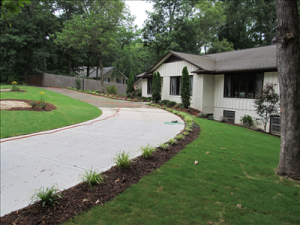 driveway after construction 2