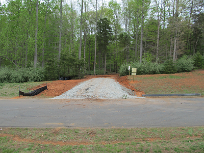 3 – new driveway entry