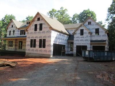 Frame completion front elevation