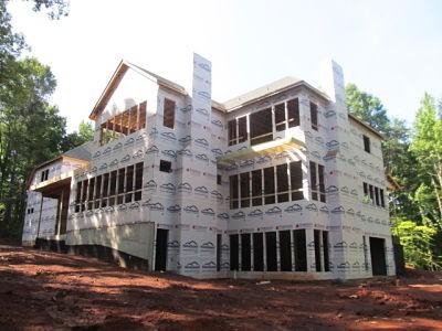 Frame completion rear elevation
